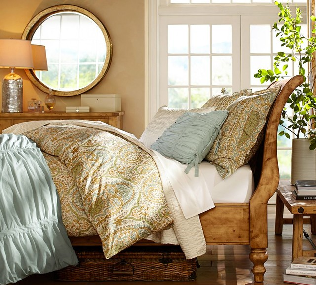pottery barn traditional bedroom