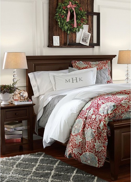 Pottery Barn King Size Bed