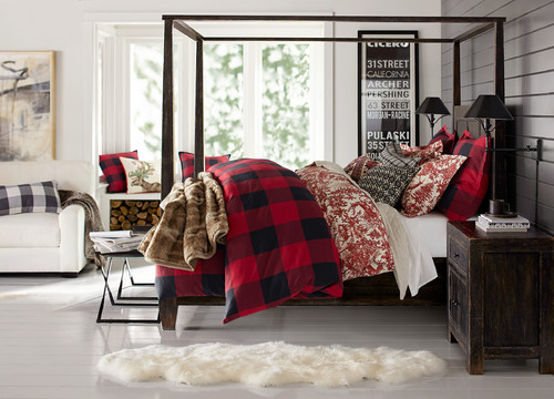 Contemporary Bedroom by San Francisco Furniture & Accessories Pottery Barn