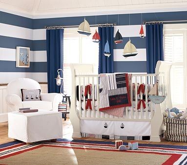 Pottery Barn Sailor Room traditional bedroom