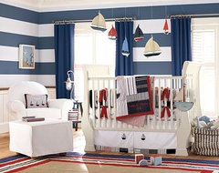 Pottery Barn Sailor Room traditional-bedroom