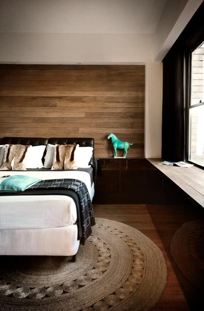 Potts Point 1 bedroom contemporary-bedroom