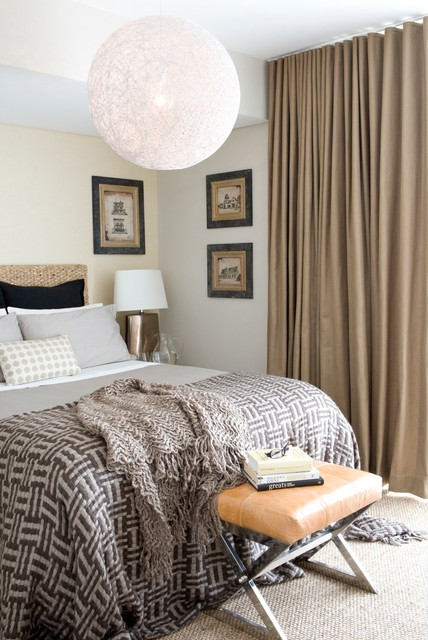 Potts Point Penthouse traditional-bedroom