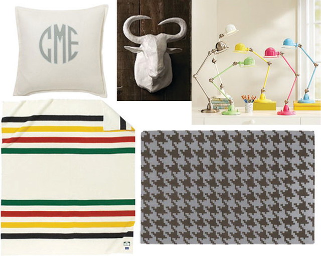Preppy Dorm Room Style traditional-bedroom