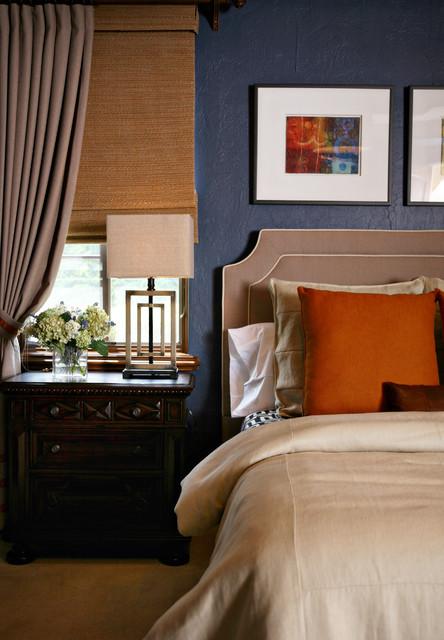 anne rue contemporary-bedroom