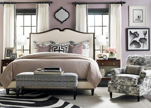Presidio Upholstered Bed By Bassett Furniture Contemporary Bedroom By Bassett Furniture