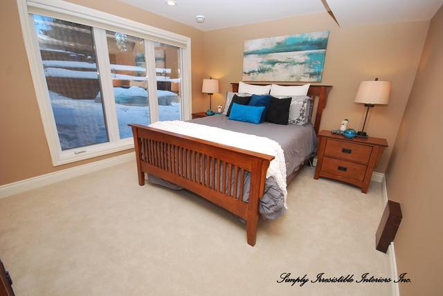 Prestigous Address River Valley Home modern-bedroom
