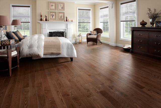 Preverco Ash Brushed Texture Mambo Color Traditional Bedroom
