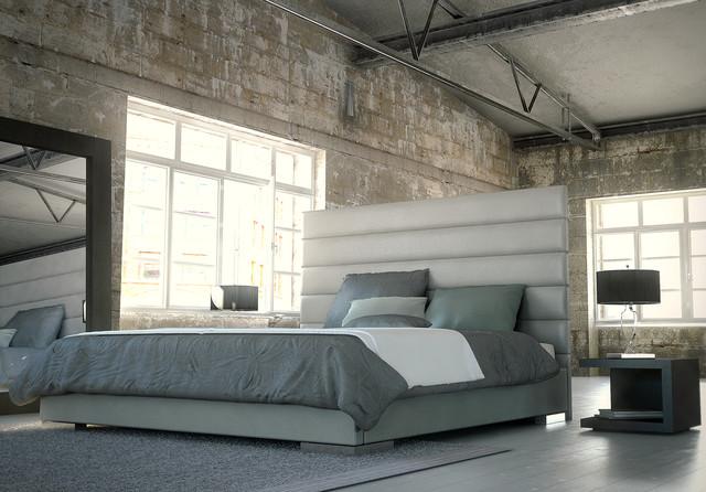 Prince Contemporary Modern Bed By Modloft Contemporary Bedroom
