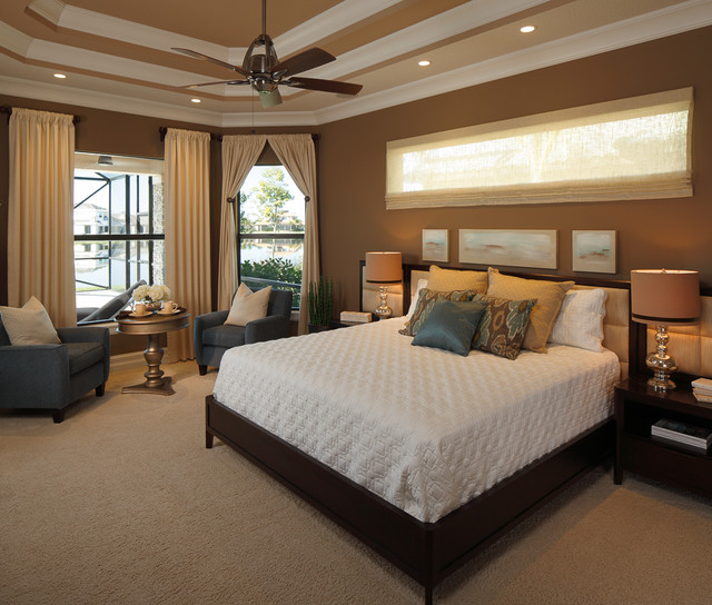 Bedrooms Transitional Home: Private Collection Model