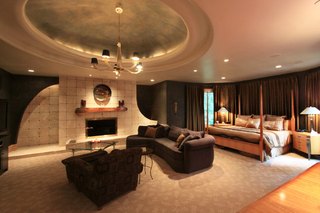 Private Luxury Residence For Sale In Brecksville Ohio Modern Bedroom