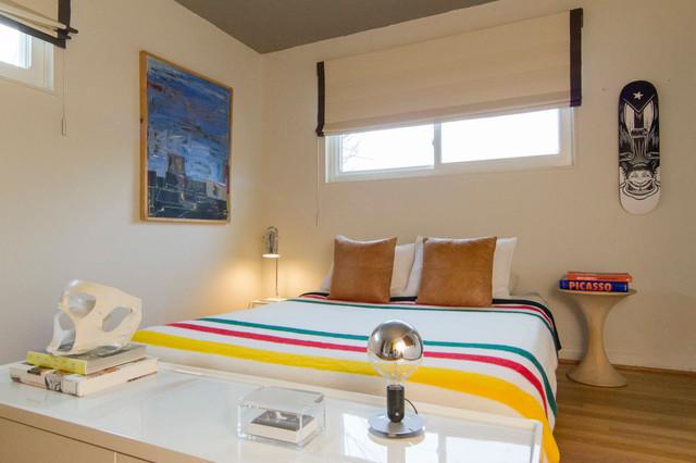 Private Maryland Residence eklektisk-sovrum