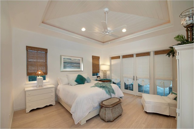 Private Naples Residence beach-style-bedroom