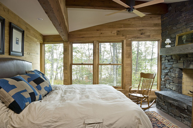 Private residence rustic-bedroom