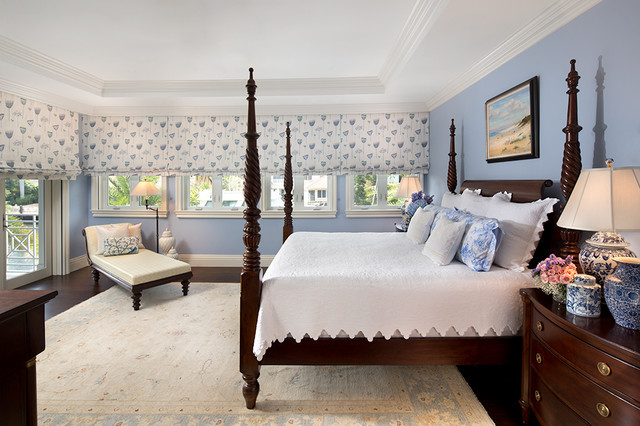 Private Residence In British Colonial Style Traditional Bedroom Miami By Equilibrium