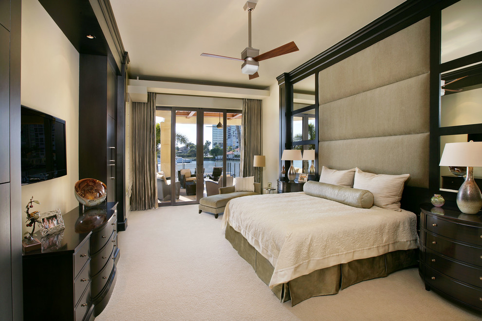 Private Residence In Southwest Florida Contemporary Bedroom Miami By Collins Dupont Design Group