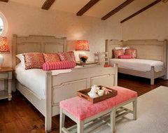 Private Residence, Pebble Beach mediterranean-bedroom