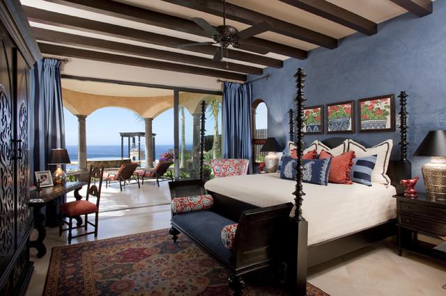 Private residence quivira los cabos mediterranean bedroom - Interior balcony in bedroom design ...