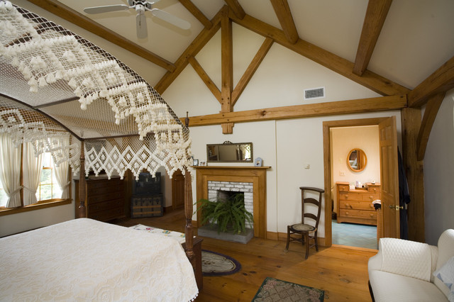 Private residence traditional-bedroom