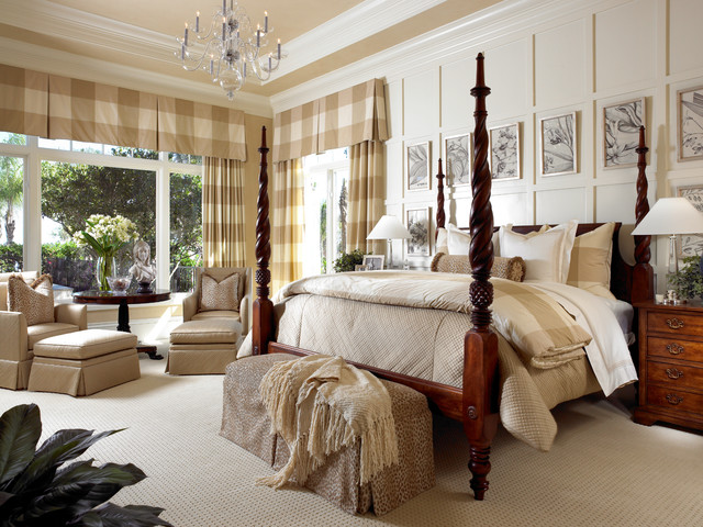 Private Residences traditional-bedroom