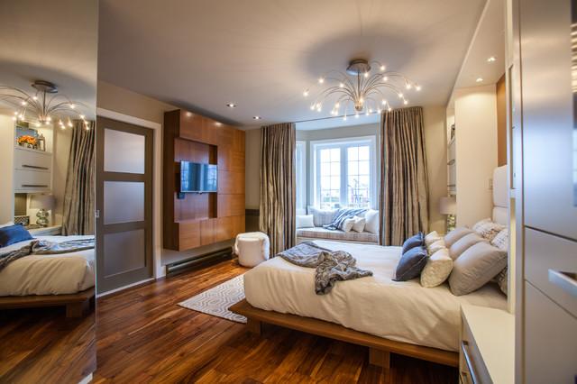 Beautiful chambre des maitres moderne images design - Couleur de chambre moderne ...