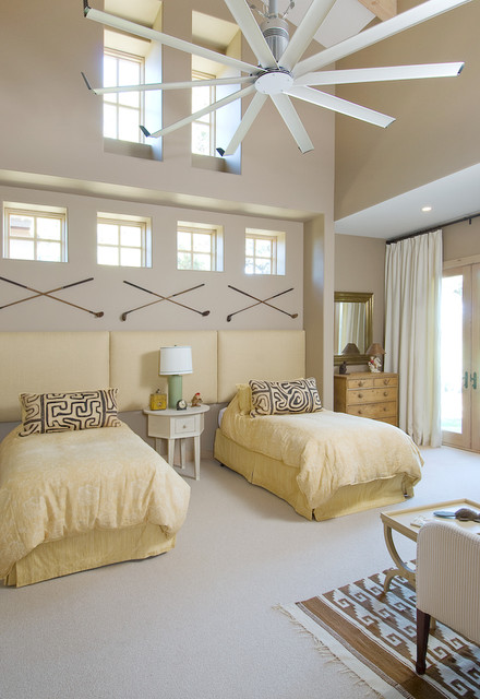 pronghorn residence contemporary-bedroom