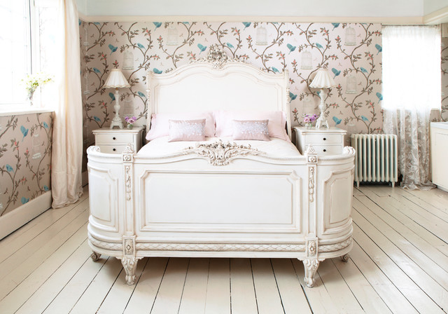 Provencal bonaparte french bed traditional bedroom for Classic french beds