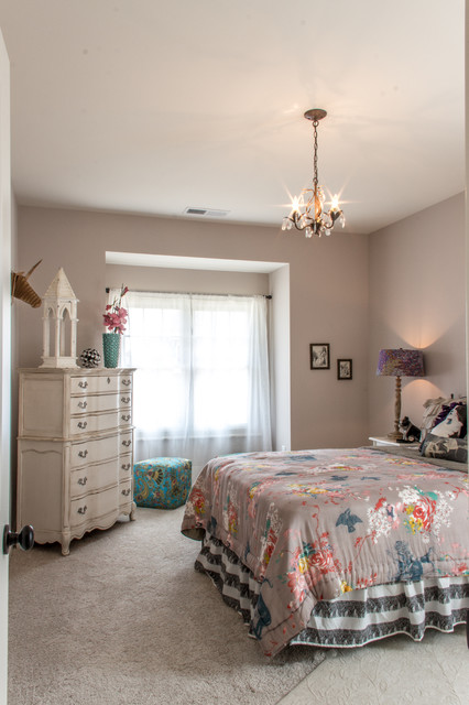 Provence transitional-bedroom