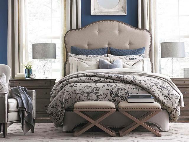 Provence Upholstered Bedroom by Bassett Furniture