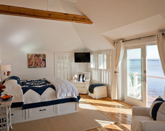 Provincetown Beach House beach style bedroom