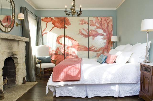 Pueblo St Master Bedroom mediterranean-bedroom