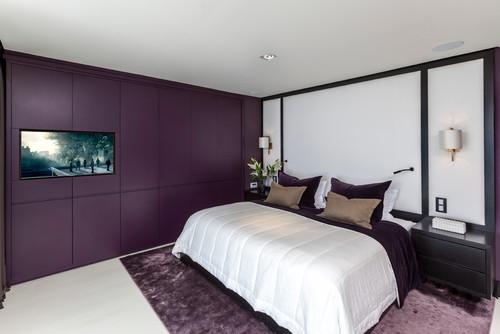 Giallo, viola o... Ecco i colori ideali per la camera da ...