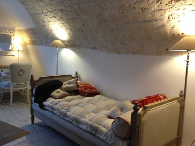 Puglia Old Attic mediterranean-bedroom