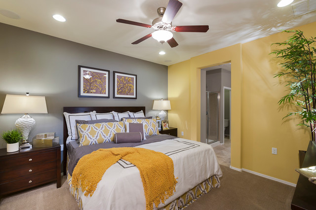 Pulte Homes Bliss Model Home Vail Arizona Contemporary Bedroom