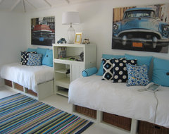 Punta del Este Beach House traditional bedroom