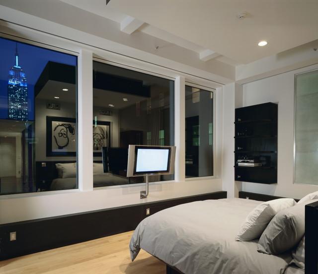 Q Loft modern-bedroom