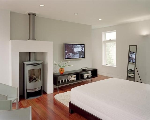 Queen Village Residence Master Suite Bedroom Modern