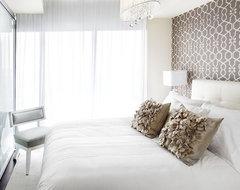 Queensway master, Interior Design Vancouver contemporary-bedroom