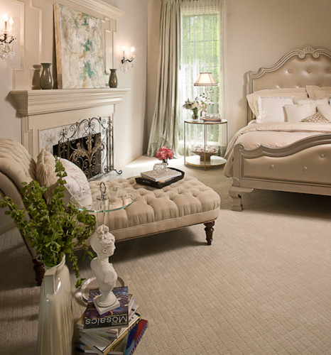 quiet sophisticated master bedroom transitional bedroom houston