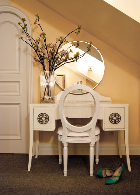 Quintessential Dressing Table - Traditional - Bedroom - Toronto - by Lucid Interior Design Inc.