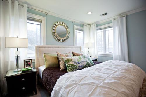 Rainwashed Master Bedroom transitional-bedroom