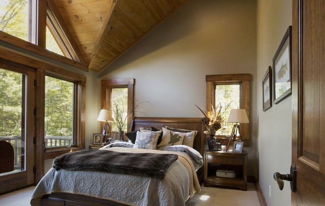Etonnant Design Ideas For A Traditional Bedroom In New York.