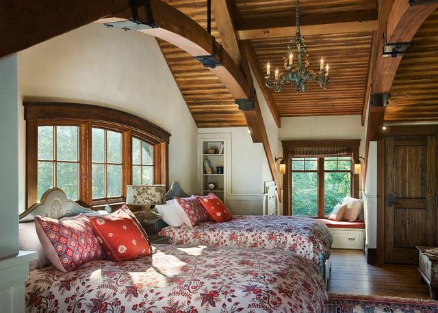 Ranch Manor Rustic Bedroom Calgary By Mitchell Brock