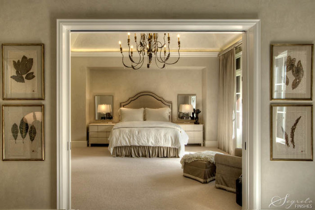 Ranch Style Chateau Eclectic Bedroom Houston By
