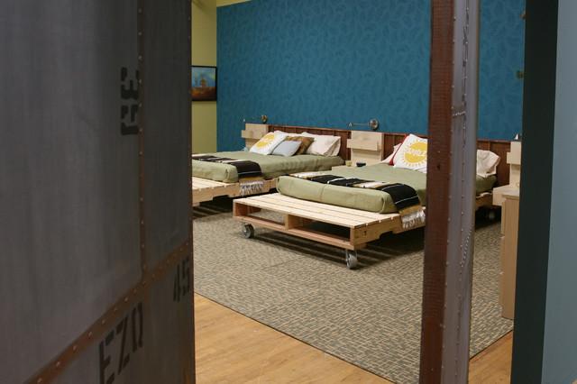 Idéer för industriella sovrum