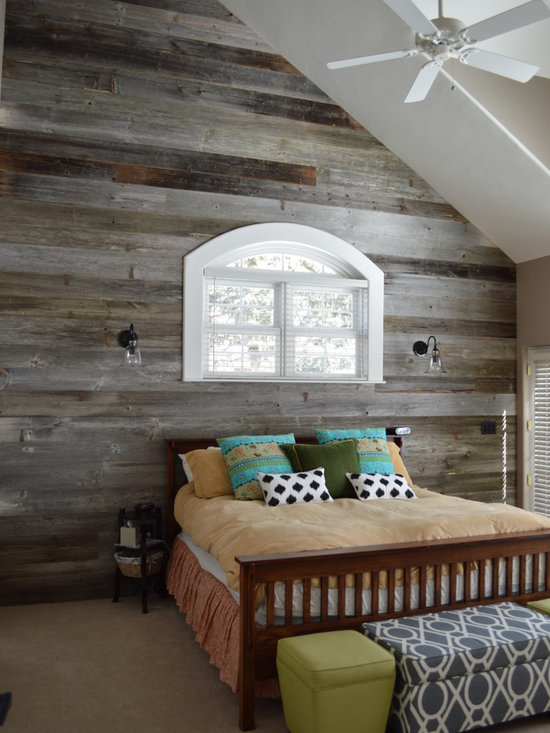Barnwood Bedroom Home Design Ideas Pictures Remodel And
