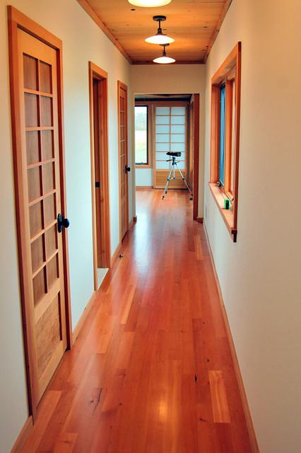 Reclaimed Douglas Fir Finds New Life as Flooring modern-bedroom