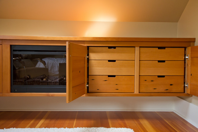 reclaimed fir bedroom storage unit modern bedroom vancouver by