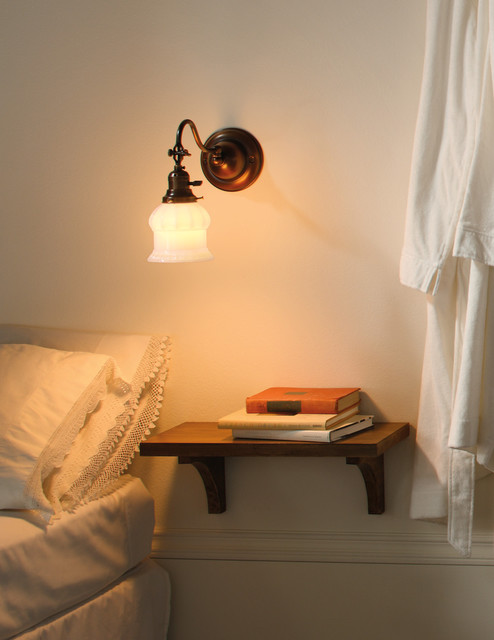 Rejuvenation: Small Spaces traditional-bedroom