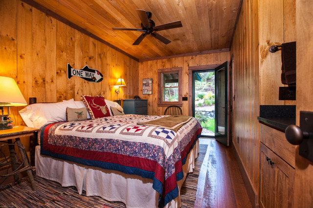Renovation Of 50 S Ranch Style Home Rustic Bedroom